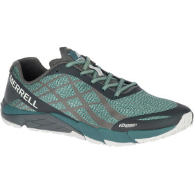 Merrell Bare Access Flex Shield Running Shoes Men grey/turquoise